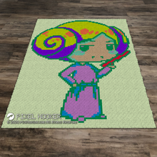 Load image into Gallery viewer, Psychedelic Princess Leia