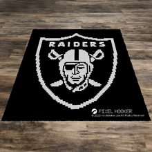 Load image into Gallery viewer, Raiders Logo