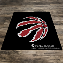 Load image into Gallery viewer, Toronto Raptors Logo (Red)