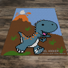 Load image into Gallery viewer, Baby Dinosaur