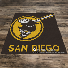 Load image into Gallery viewer, San Diego Padres Old Logo