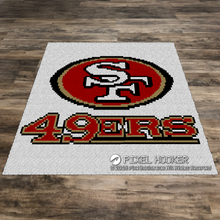Load image into Gallery viewer, San Francisco 49ers Logo