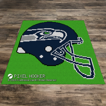 Load image into Gallery viewer, Seattle Seahawks Helmet