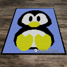 Load image into Gallery viewer, Penguin portrait