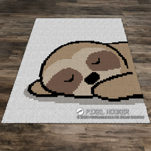 Load image into Gallery viewer, Lazy Day Sloth