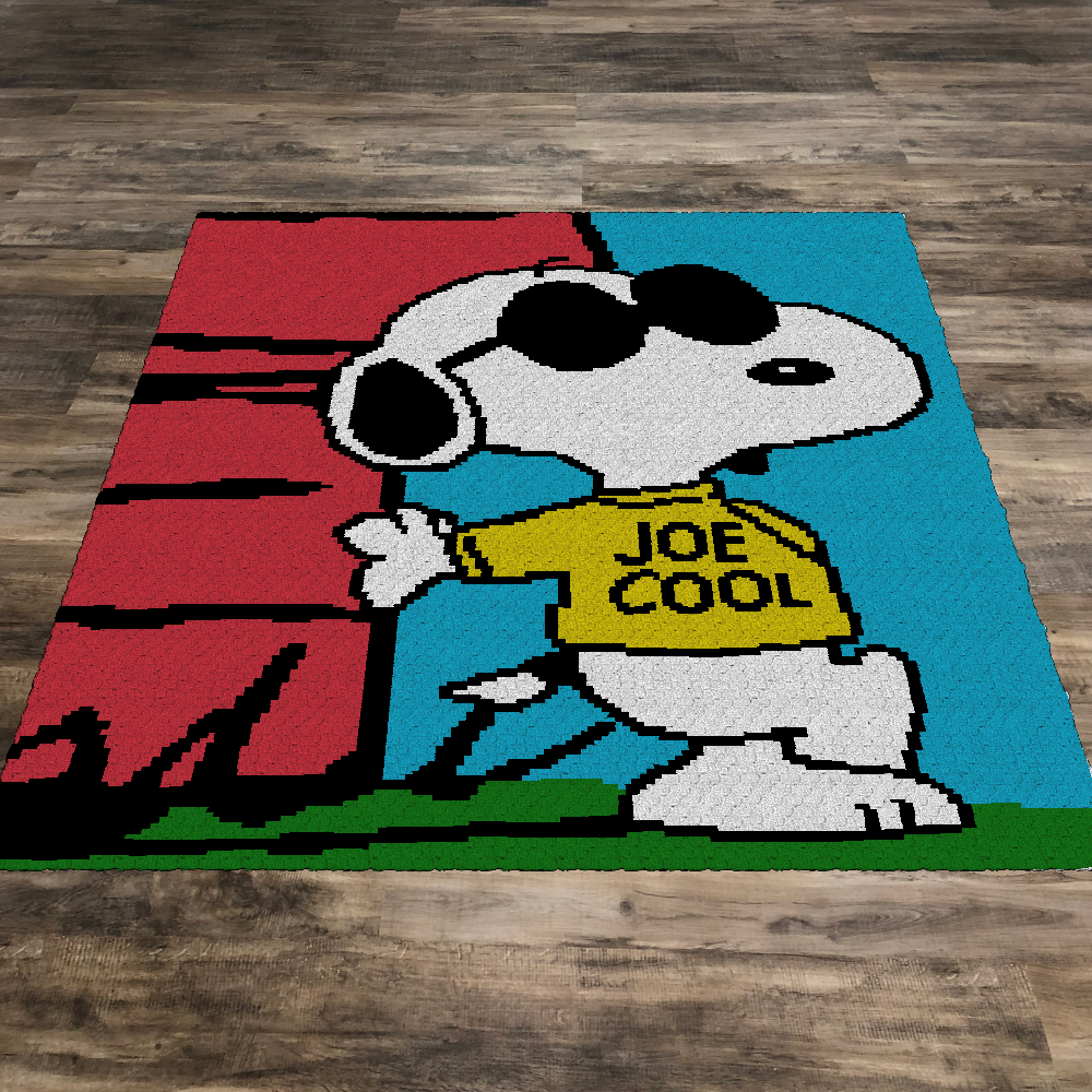 Joe Cool Snoopy (Row by Row)