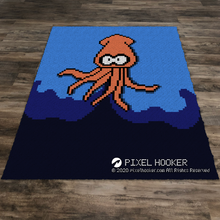 Load image into Gallery viewer, Squid Squirting Ink