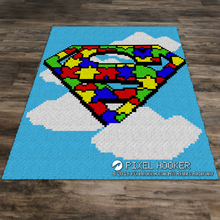 Load image into Gallery viewer, SuperMan Puzzles