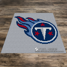 Load image into Gallery viewer, Tennessee Titans Logo