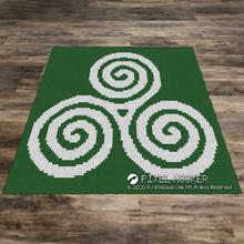 Load image into Gallery viewer, Celtic Spirals