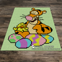 Load image into Gallery viewer, Tigger and a Chick