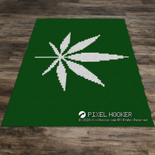 Load image into Gallery viewer, Weed Flag