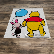 Load image into Gallery viewer, Winnie the Pooh and Piglet