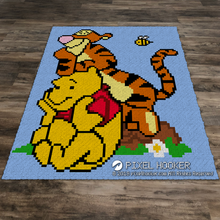 Load image into Gallery viewer, Winnie the Pooh and Tigger