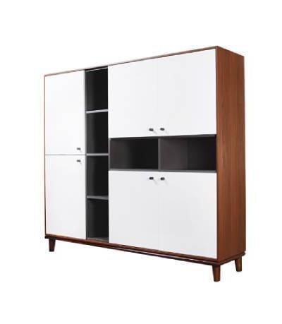 Pecan Large Wall Unit