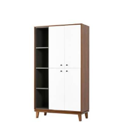 Pecan Medium Wall Unit