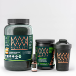 Royalty Power Bundle - Vegan Protein, BCAA, & Oil infused CBD package, 1st Edition Royalty Shaker + Bonus CBD Cooking Guide + Bonus 30 Day HIIT Program