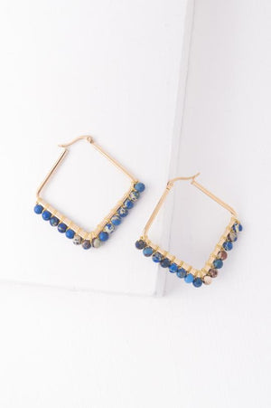 Kayla Hoop Earrings