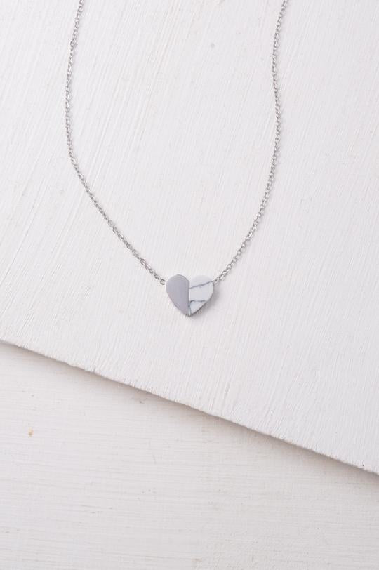Alexis Heart Necklace