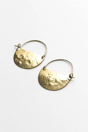 Mini Moon Earrings