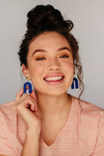 Ultramarine Rainbow Earrings