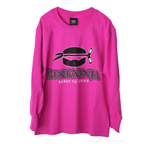"RinkNinja Long-Sleeve T-Shirt ""POWER HOUSE"""