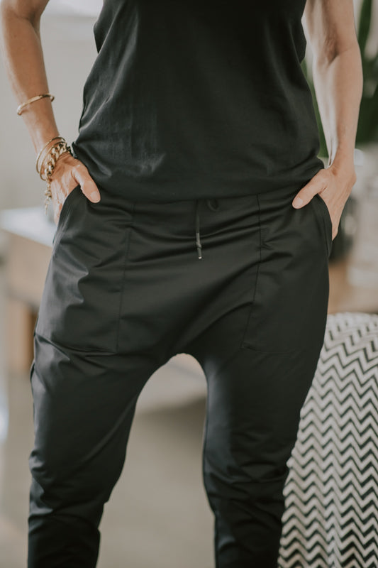 PINOKIM PANTS - BLACK