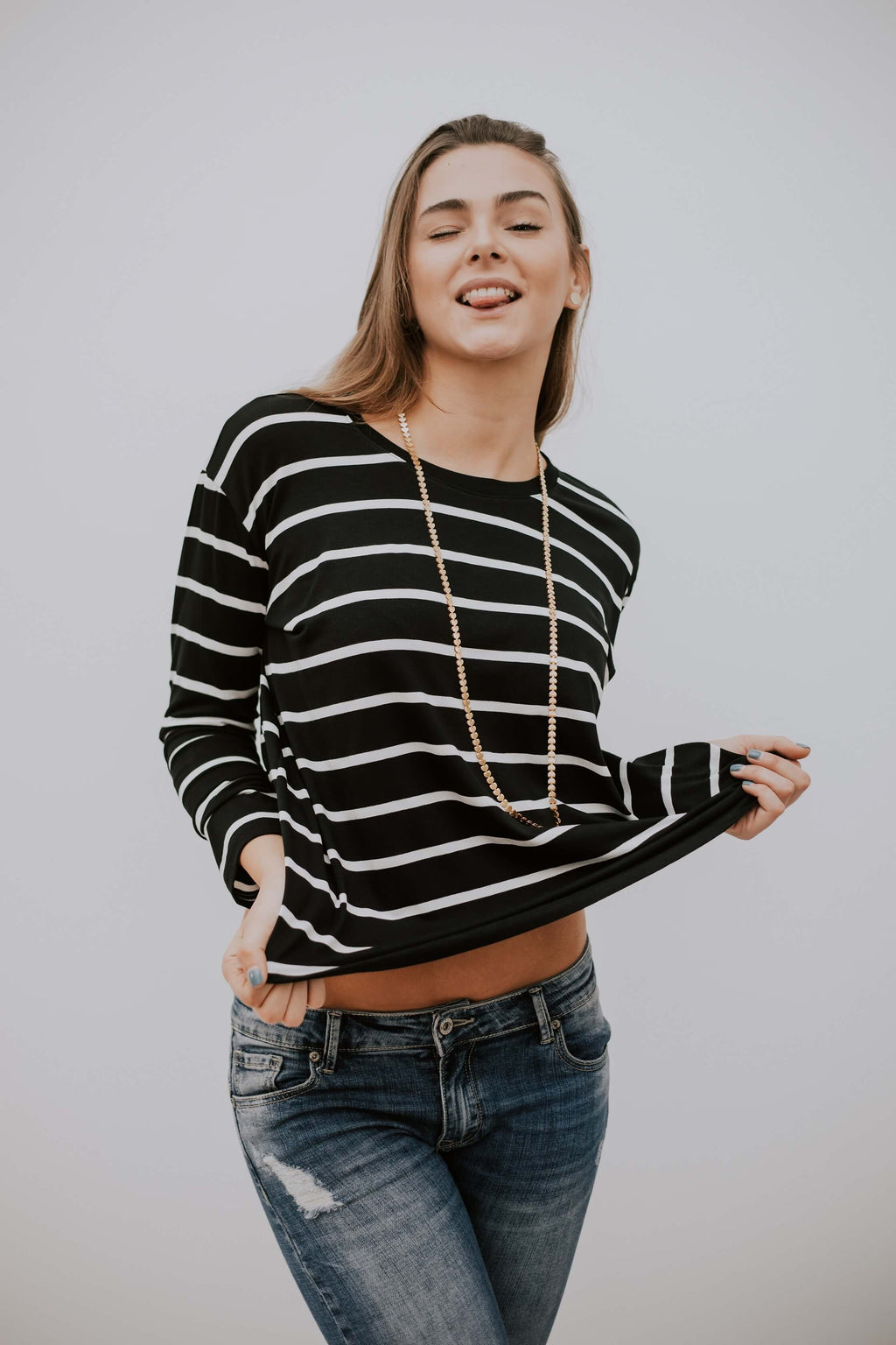 NIKI SH SHIRT - STRIPES