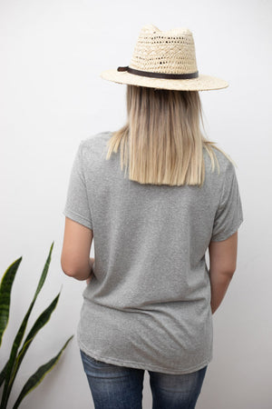 BASIC SHIRT - GRAY