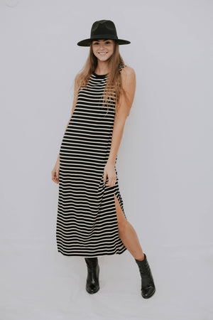 AIMANOALA DRESS -STRIPES
