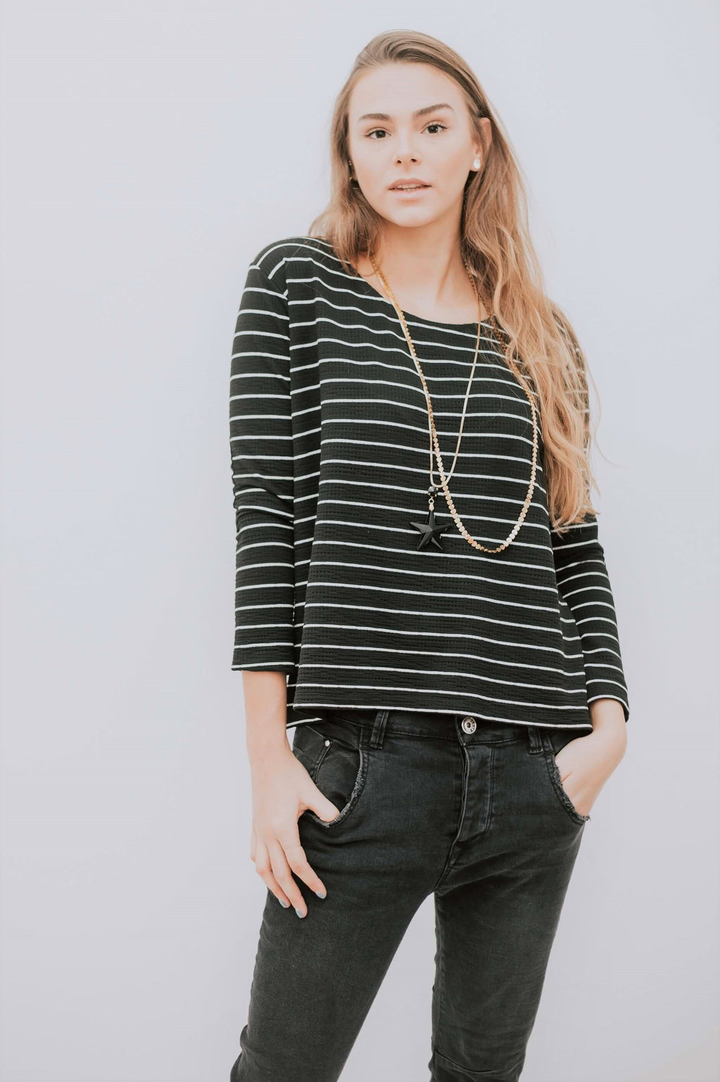 SH SHIRT - STRIPES