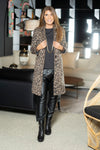 LONG LEOPARD JACKET