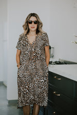 KAMI DRESS - LEOPARD