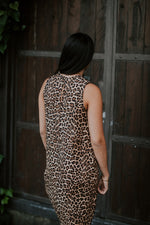 LEOPARD DRESS - SHORT