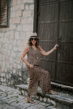 LEOPARD DRESS - LONG