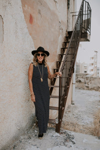 NICKOLE DRESS -STRIPES