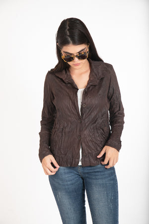 ALMA JACKET - BROWN