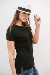 BASIC T ALEX - BLACK