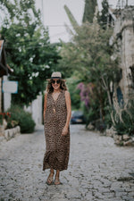 LONA DRESS - LEOPARD