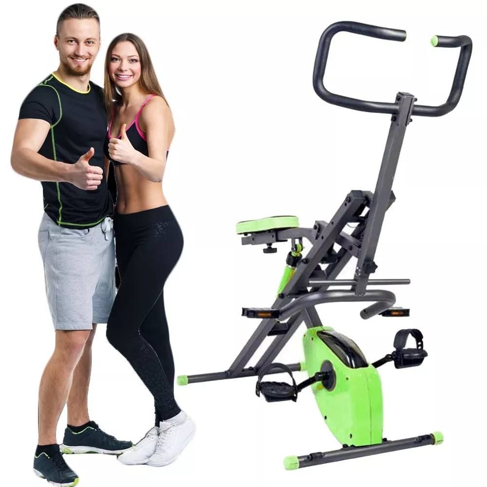 Abdominales y Bicicleta Total Body Crunch Evolution + obsequio