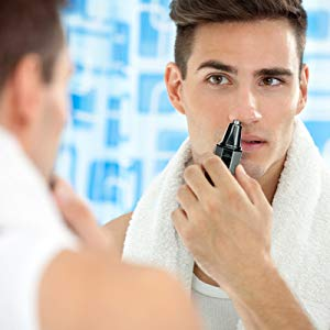 Water Resistant Nose Hair Trimmer