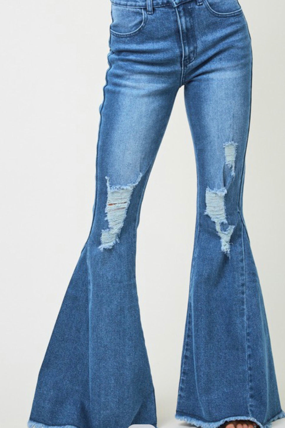Jimmie Distressed Flare