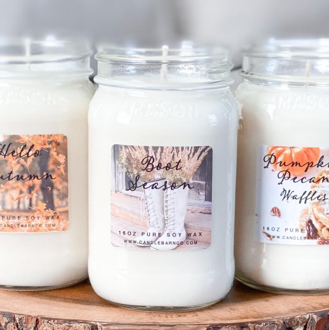 Let's get Lit - Fall Scent Candles