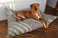 Canvas Wolfii Dog Bed Cover in Ecru, SM to XL Covers for Dog Beds