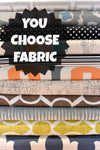 YOU Choose Fabric, Designer Dog Bed Cover