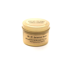 No. 7: Geranium Bloom - 2 Oz. Gold Mini