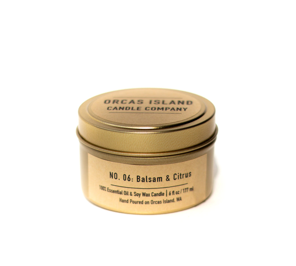 Balsam & Citrus - 6 Oz. Travel Tin