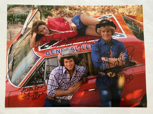 Catherine Bach, John Schneider and Tom Wopat