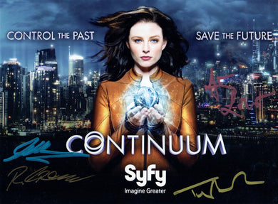 Continuum Cast multi signed
