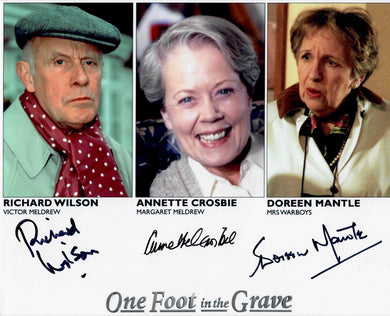 One Foot in the Grave cast